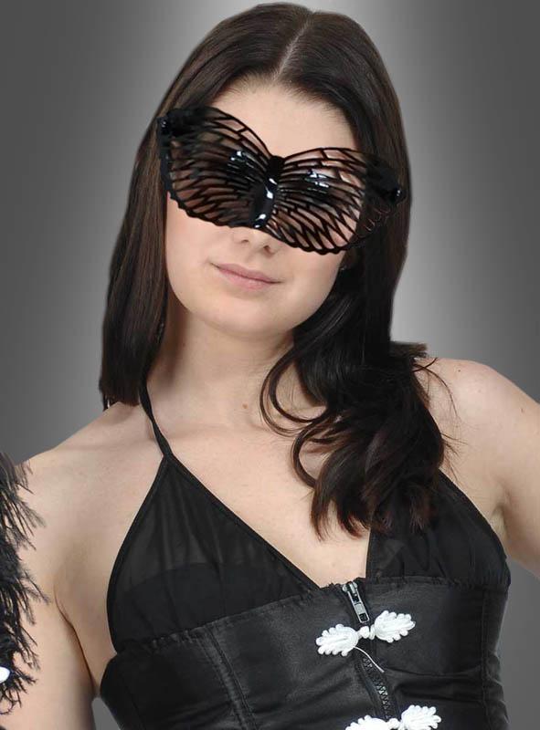 Gothic black Eyemask Glasses