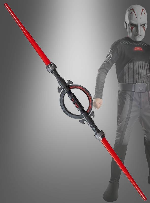 Merveilleux Star Wars Inquisitor Doppelklingen Lichtschwert Rot ...