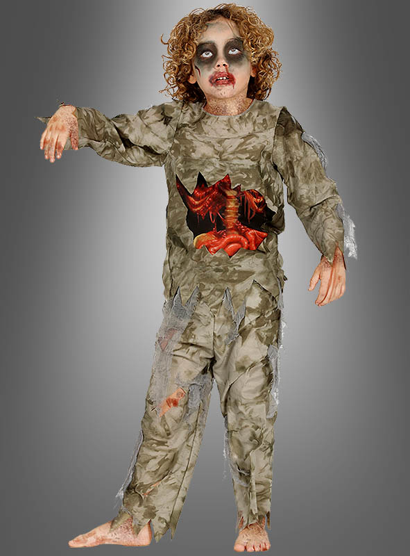 Zombie Kostum Kinder Fur Halloween Bei Kostumpalast