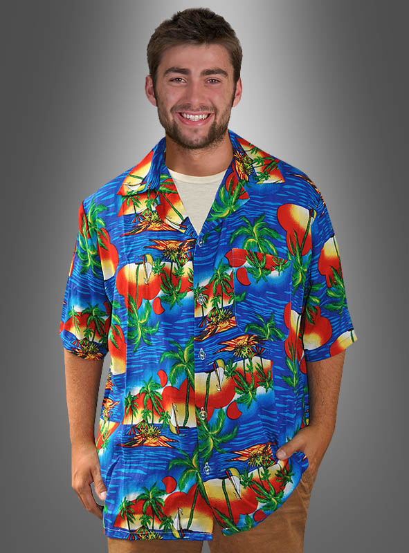 Beachparty Hawaiian Shirt Pacific Dream