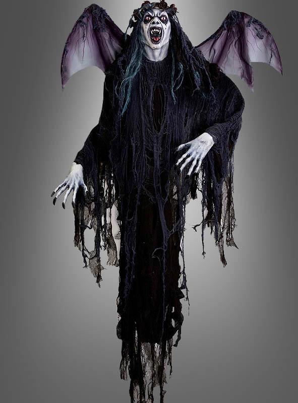 Geflügelte Vampir Dämonin 140 cm