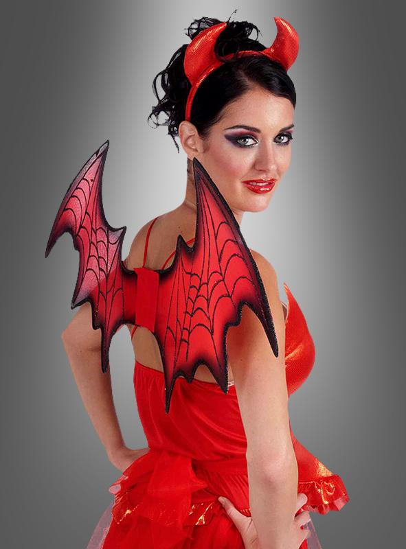 Dämonenflügel Für Teufel Kostüme