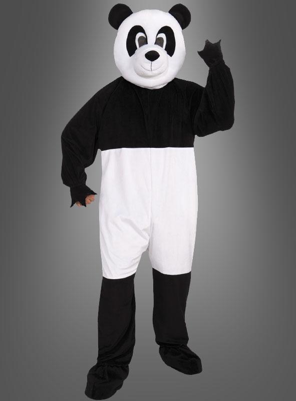 panda maskottchen kostum