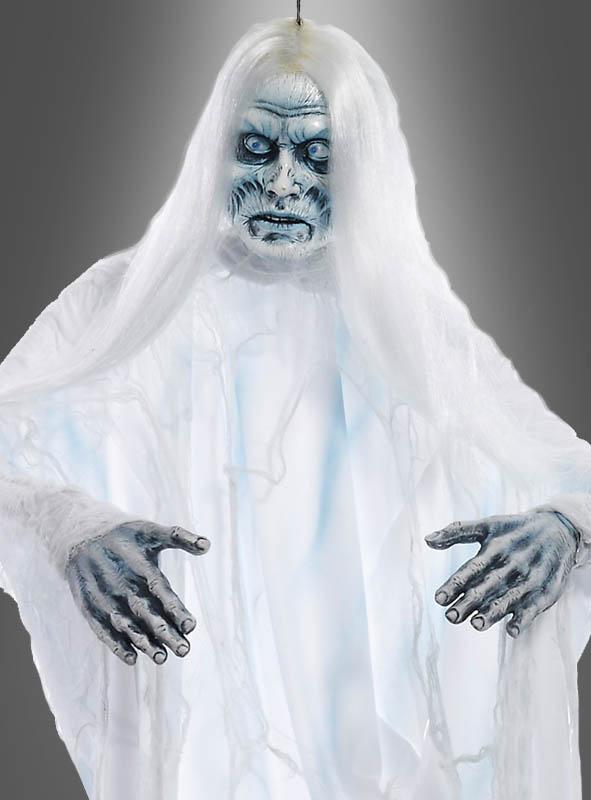 Weisser Halloween Geist Hangedeko Bei Kostumpalast De