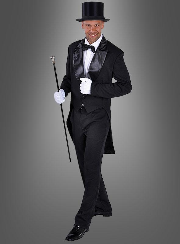 Deluxe Frack Herren als Karnevalskostüm im Kostümpalast 843fe8b31952b