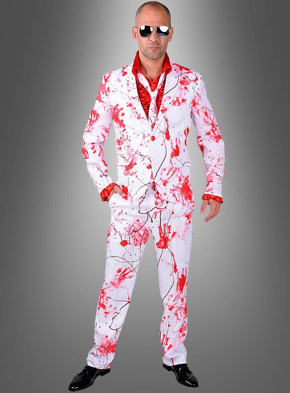online store 4c986 2ed51 Blutiger Anzug für Herren Halloweenkostüm