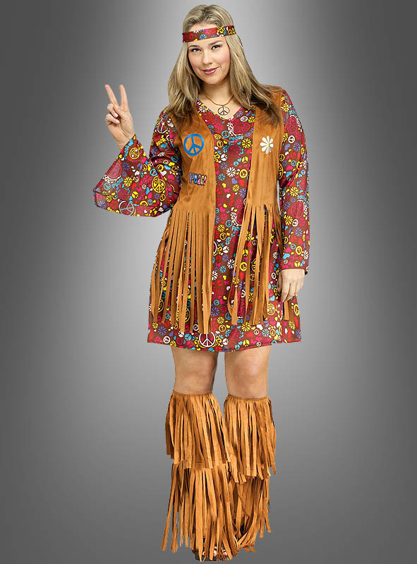 hippie kostuem xxl bei kostuempalastde