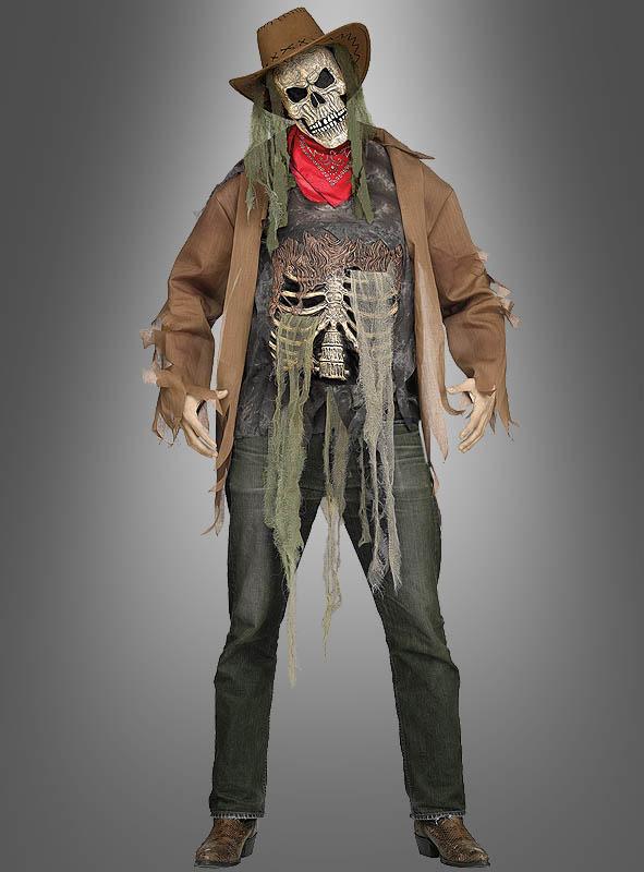 Kette Totenkopf Knochen Party Kostüm Accessoires Wild West
