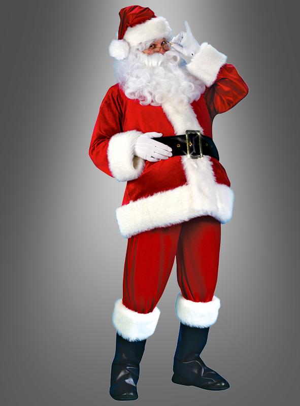 Weihnachtsmann Nikolaus Übergröße Kostüm