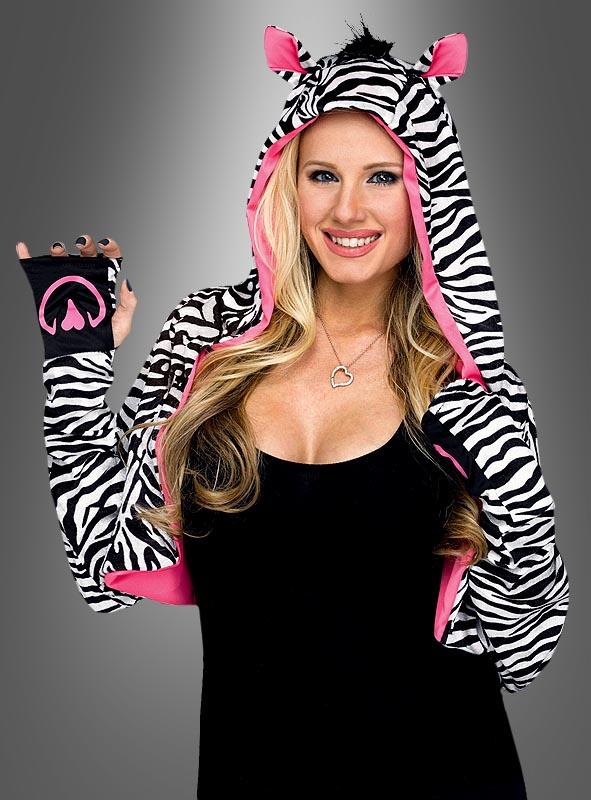 Zebra Bolero For Women Buyable At Kostumpalast De