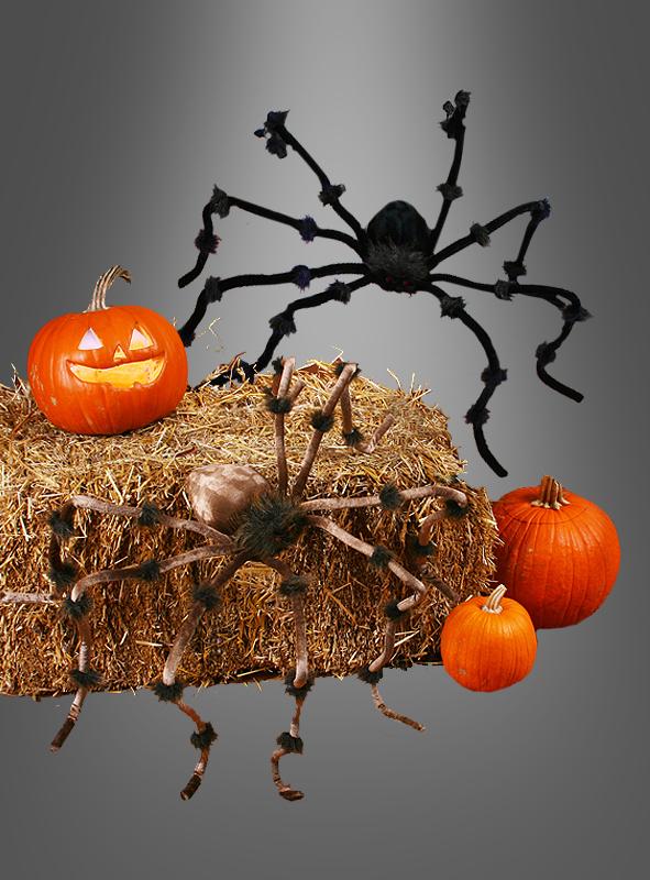 Big plush spider