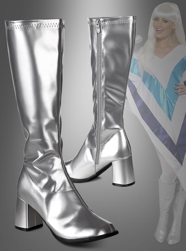info for 66b44 f3f42 Silberne Stiefel für Damen bei » Kostümpalast.de