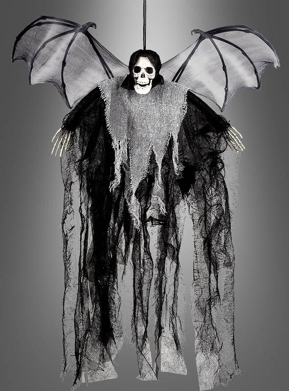 Halloween Fledermaus Deko Skelett Bei Kostumpalast De