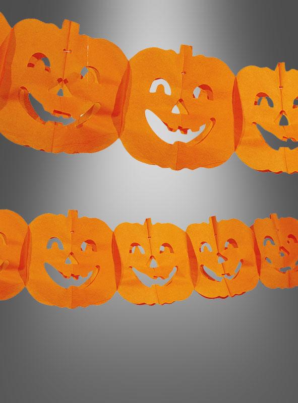 Halloween girlande k rbis bei kost - Halloween girlande ...
