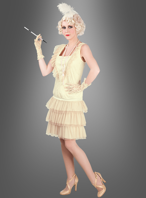Charleston Damenkostüm Flapper 1920er 20er Jahre Karnev