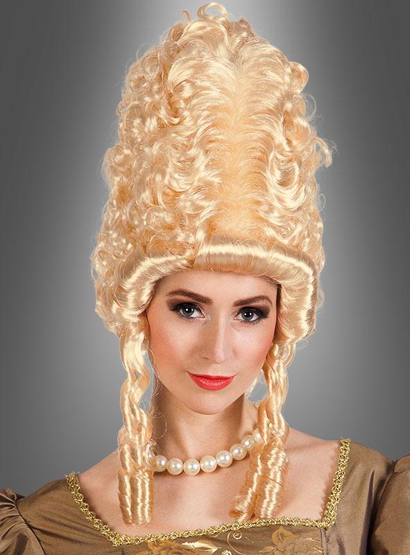 Marie Antoinette Frisur Perucke Bei Kostuempalast De
