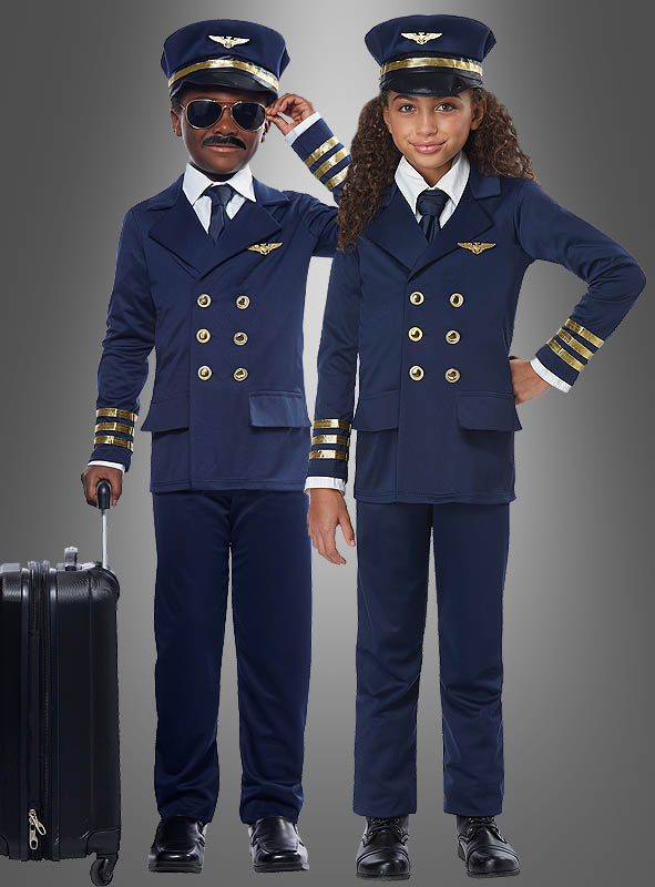 Airplane Captain Costume for Children