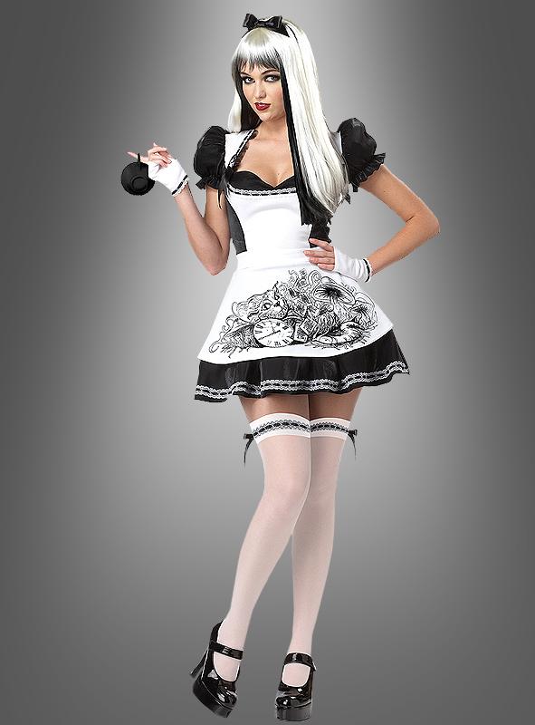 Alice Im Wunderland Kostum Damen Dark Alice