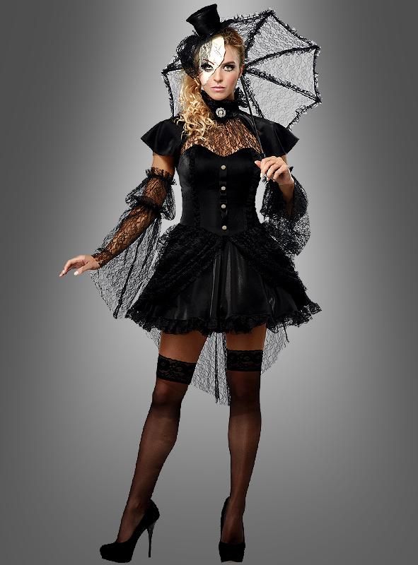 abwechslungsreiche neueste Designs Entdecken Sie die neuesten Trends Einkaufen Viktorianische Puppe Gothic Kleid mit Schirm
