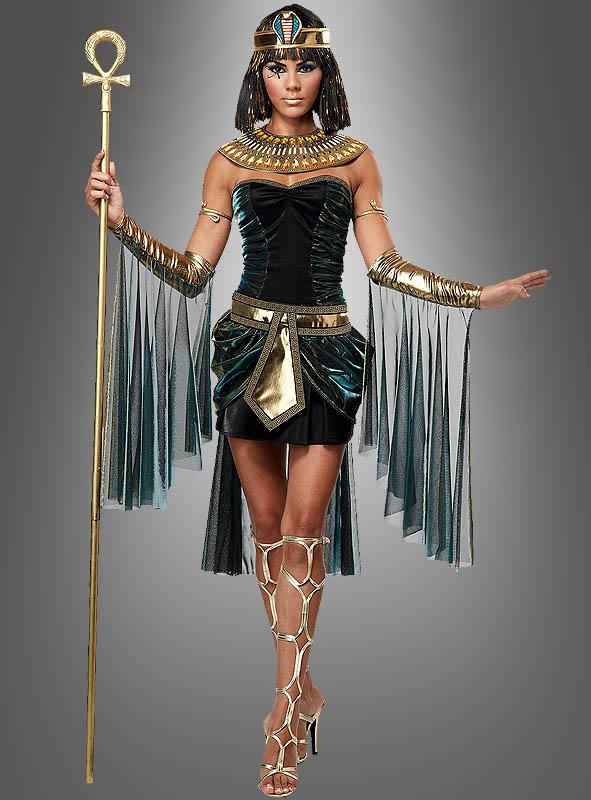 Kostüm Kleopatra Königin Ägypten Ägyptische Frau Pharao Halloween