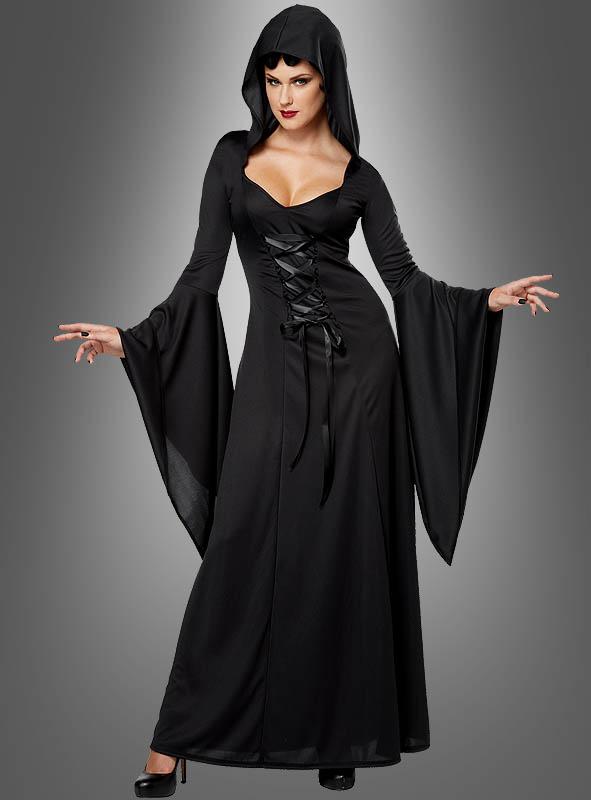 Schwarzes vampir kleid