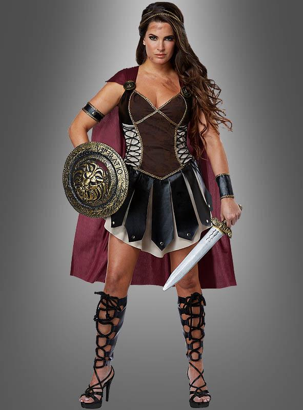 gladiatorin kost m kriegerin faschingskost m f r damen. Black Bedroom Furniture Sets. Home Design Ideas