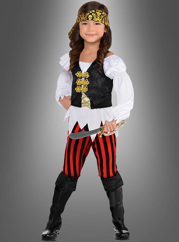 Piratenkostüm Mädchen Karnevalskostüm Bei Kostümpalast