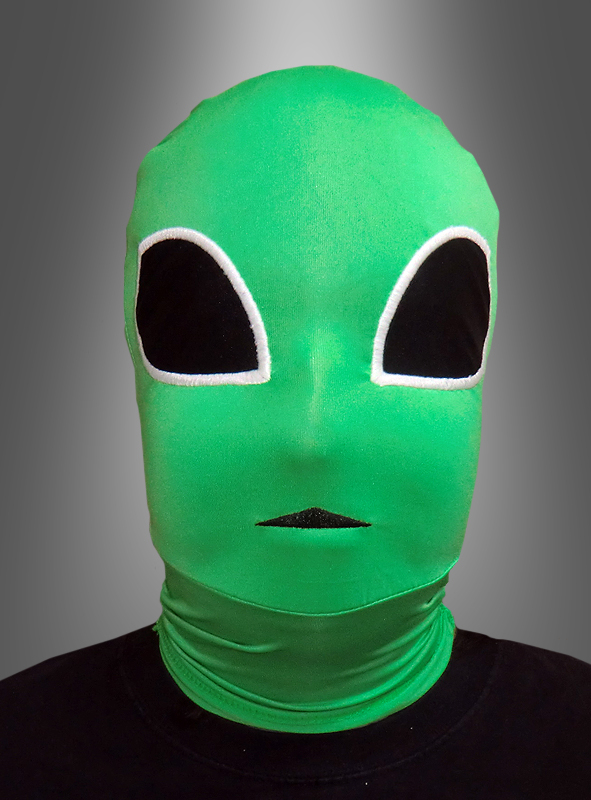Morph Maske Alien Ausserirdischer bei Kostuempalast.de