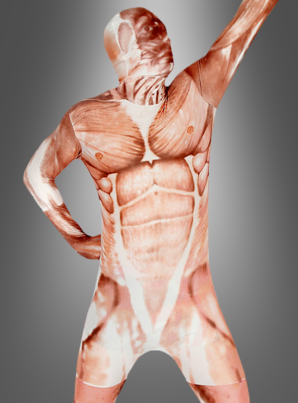 Morphsuit Muscle Second Skin Kostuempalast