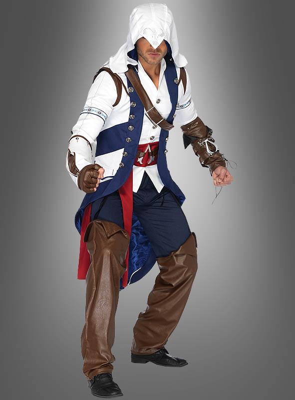 Assassins Creed Connor Costume Kostumpalast De
