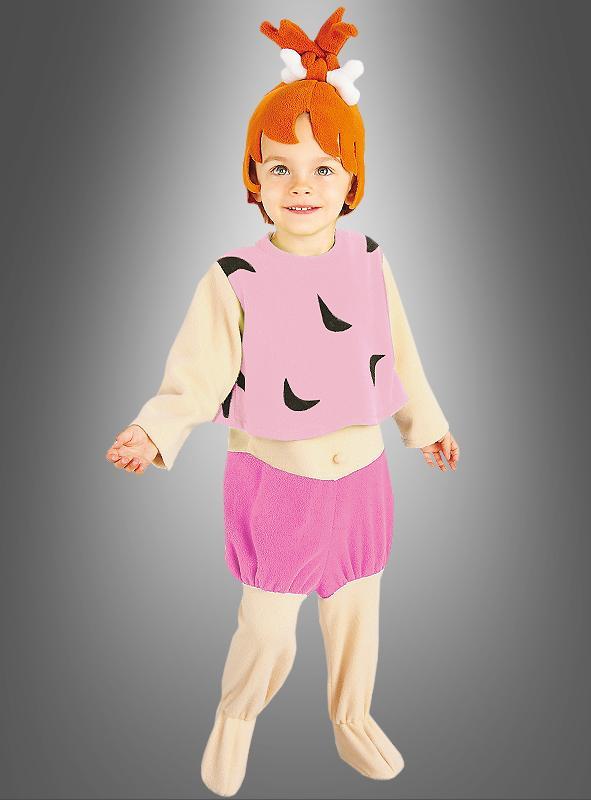 Pebbles child costume Flintstones