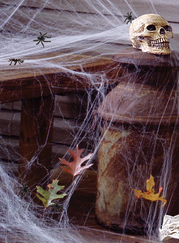 halloween spinnennetz deko bei. Black Bedroom Furniture Sets. Home Design Ideas