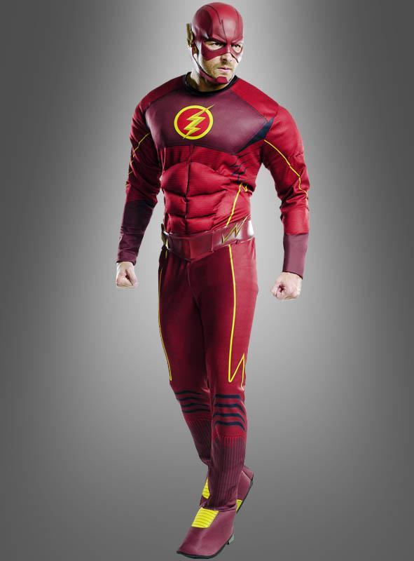 Deluxe Flash Herrenkostüm