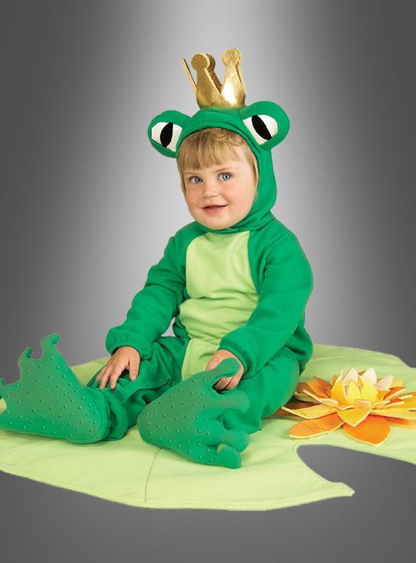 Froschkönig Kostüm mit Spieldecke
