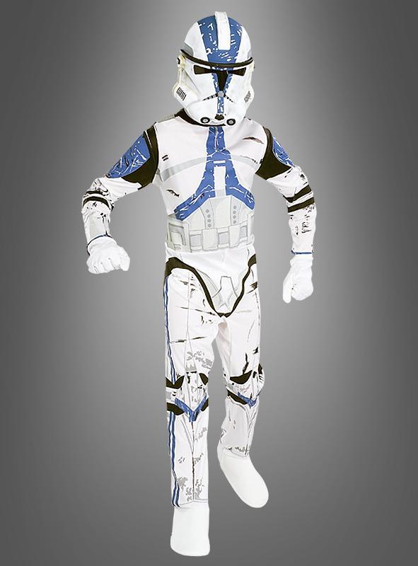STAR WARS Kinder Clone Trooper Kostüm Klonkrieger