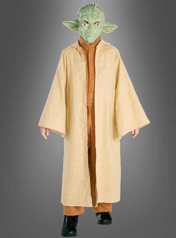 STAR WARS deluxe Yoda child costume