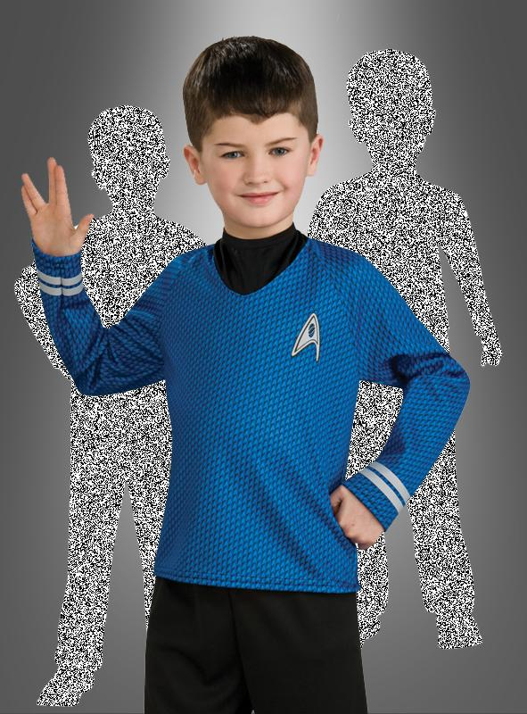 Kinder STAR TREK Uniform SPOCK Science Fiction