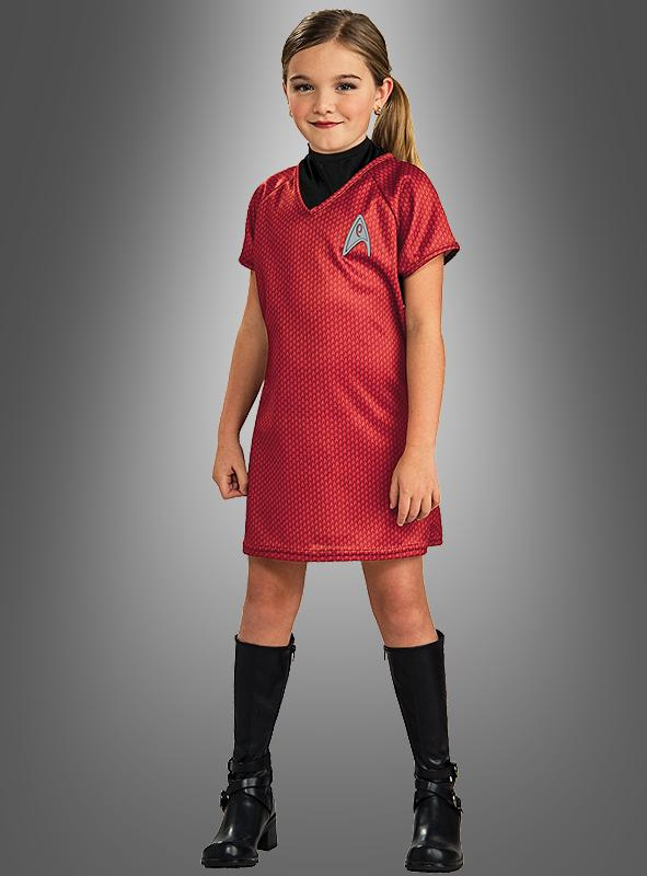 Star Trek Uhura dress for children