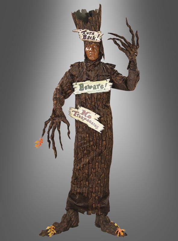 Spukender Baum Halloweenkostüm Glitzerbaum Selber Machen