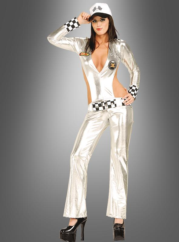 Sexy Boxenluder Kostüm Formel 1