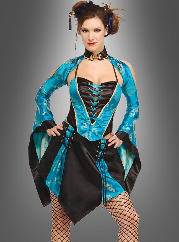 Sexy Geisha Kostüm Japanerin