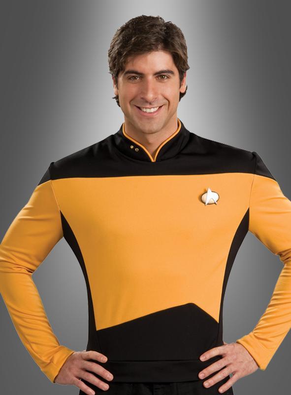 Star Trek costume gold shirt TNG