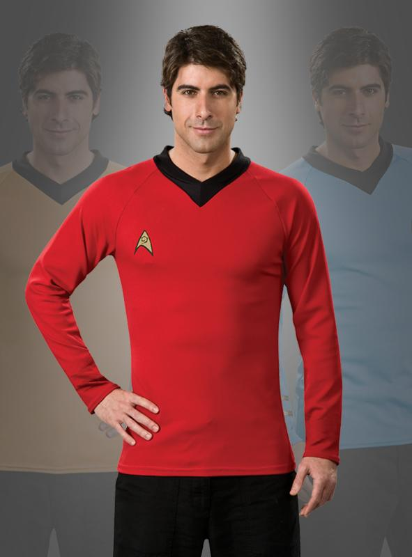 Star Trek Classic Shirt  red