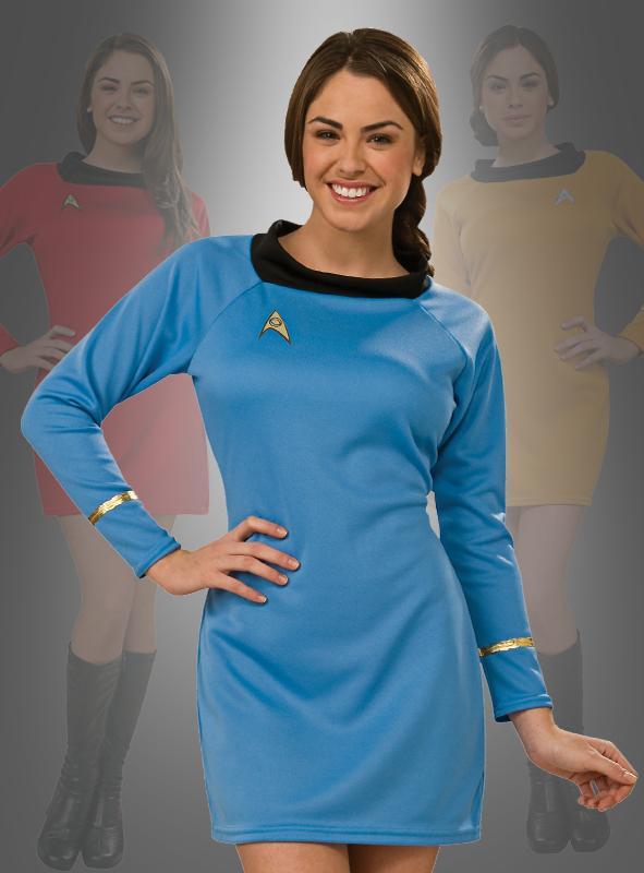 STAR TREK Uniform Classic Dress gold