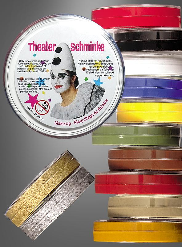 Theatre Make-up different colors