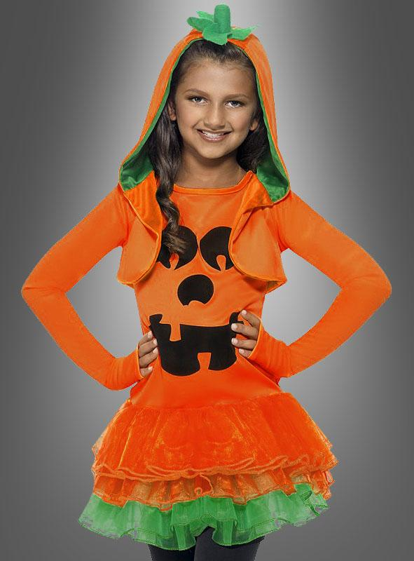 Pumpkin Dress for Girls