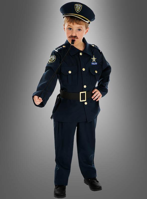 Polizei Kostüm für kleine Gesetzeshüter