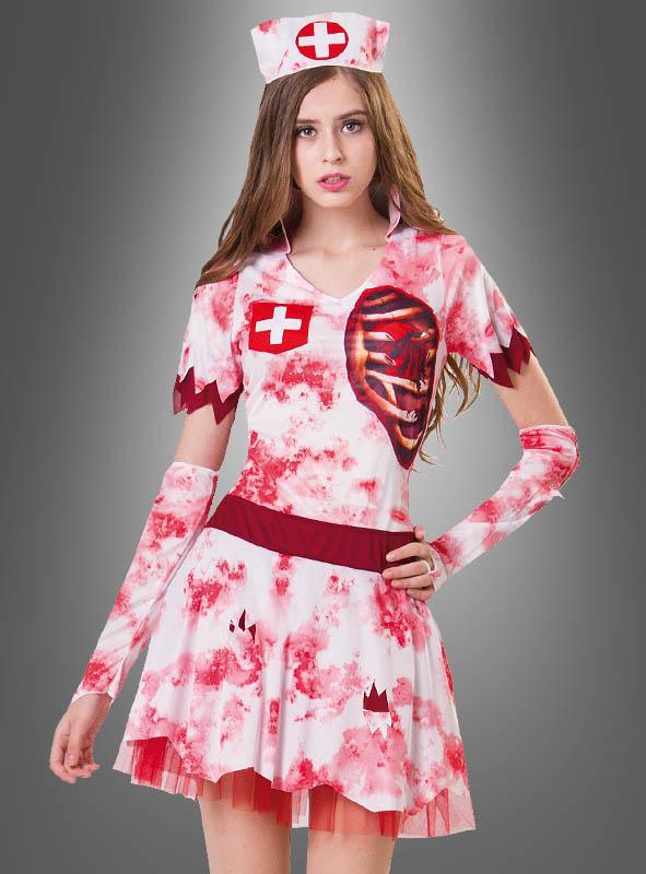 Bloody Zombie Nurse Costume