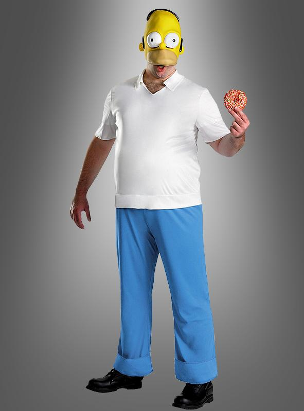 Homer Simpsons deluxe costume