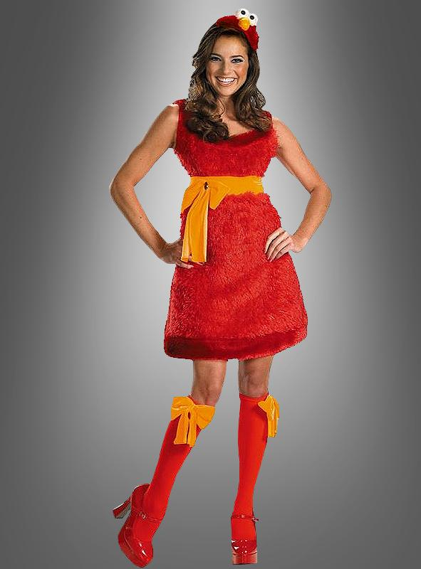 Sexy Elmo Monster adult costume